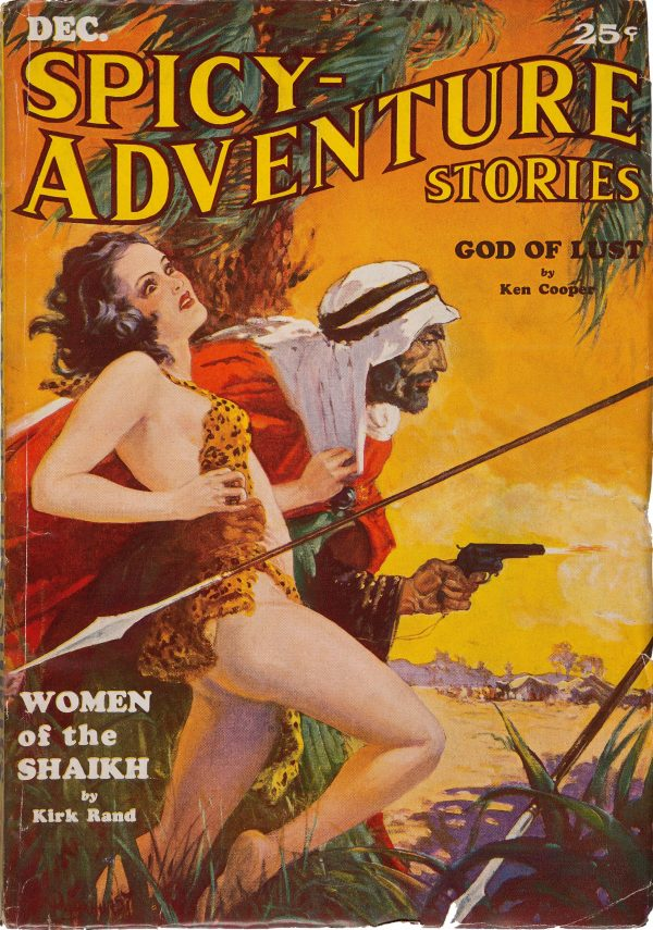 Spicy Adventure Stories - December 1934
