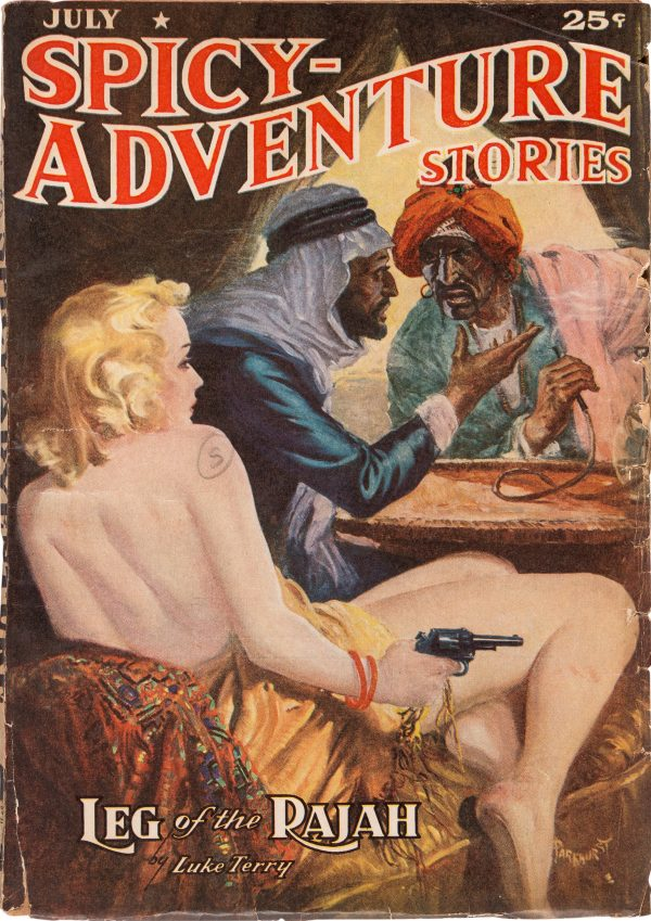 Spicy Adventure Stories - July 1939