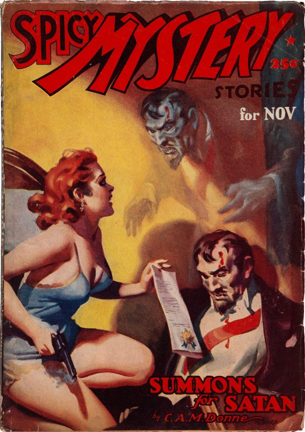 Spicy Mystery Stories - November 1937