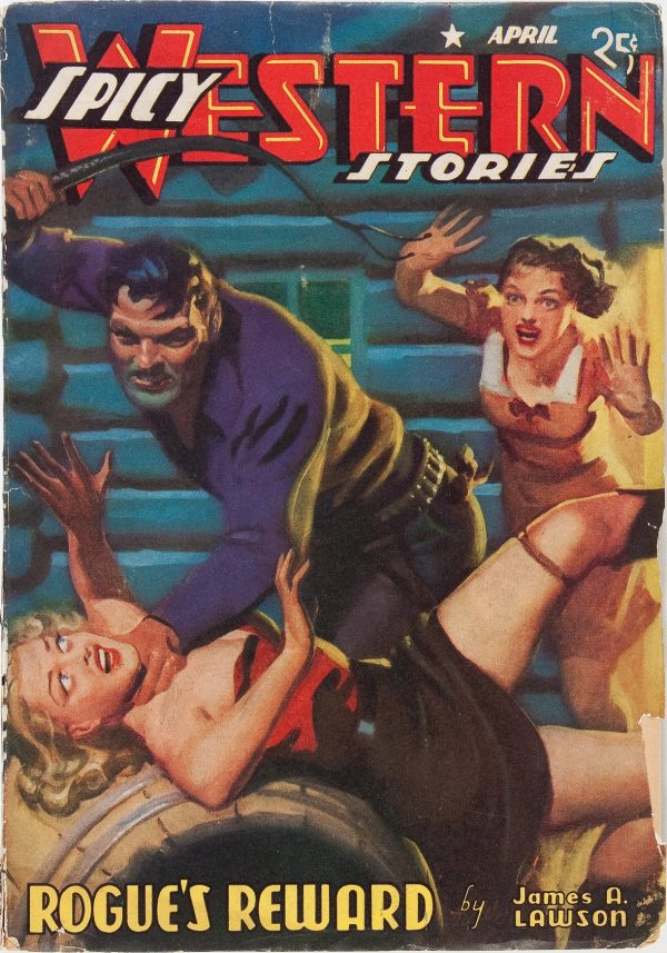 Spicy Western Stories - April 1941