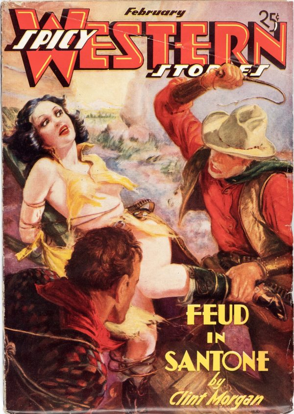 Spicy Western Stories - February 1937
