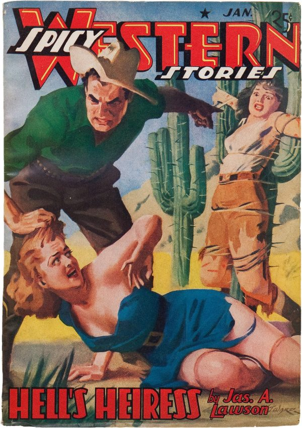 Spicy Western Stories - January 1941