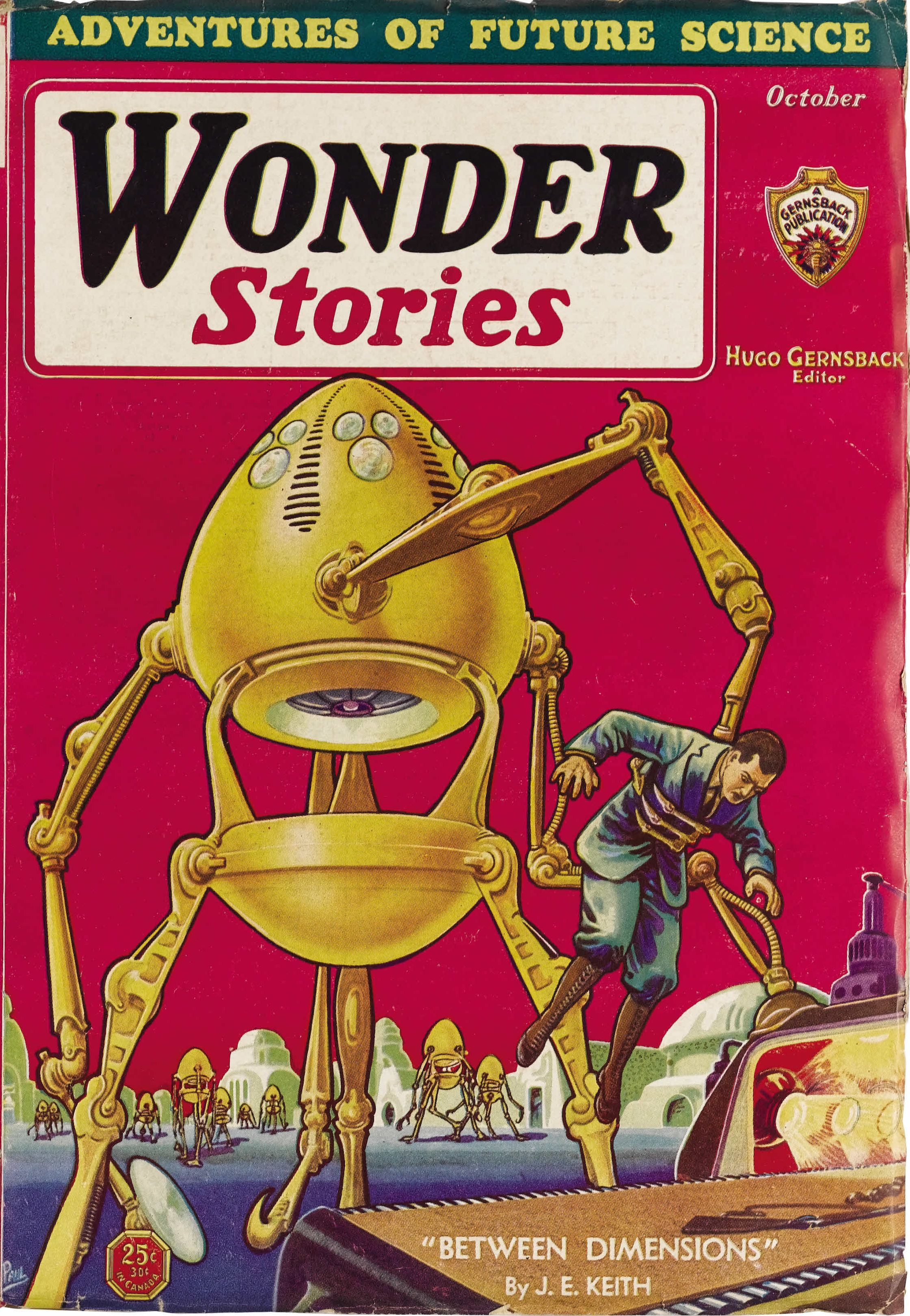 Wonder Stories October 1931