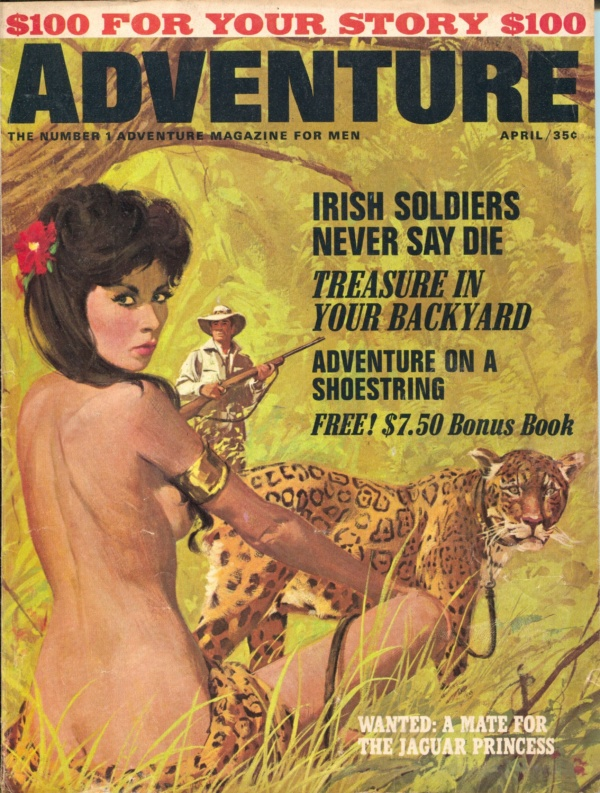 Adventure Magazine April 1965