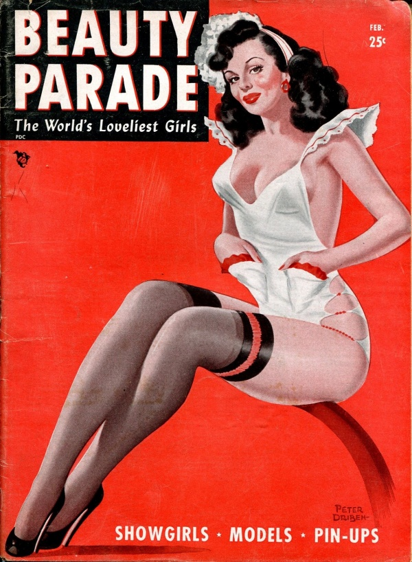 Beauty Parade February 1948
