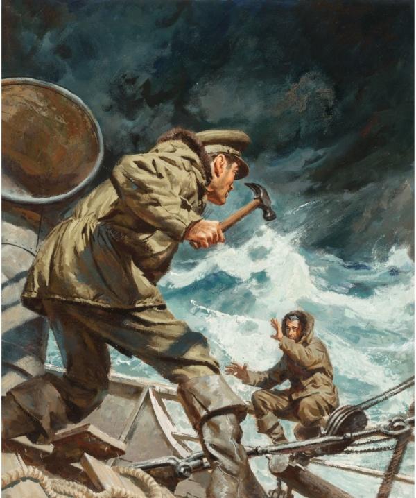 Dangerous Voyage, paperback cover, 1953