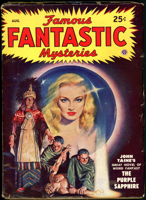FAMOUS FANTASTIC MYSTERIES. August 1948