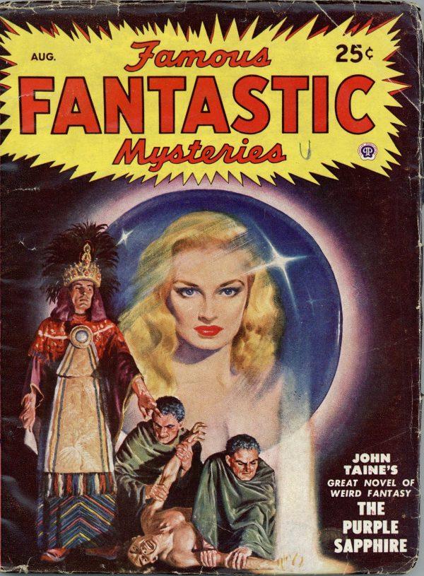 Famous Fantastic Mysteries August 1948