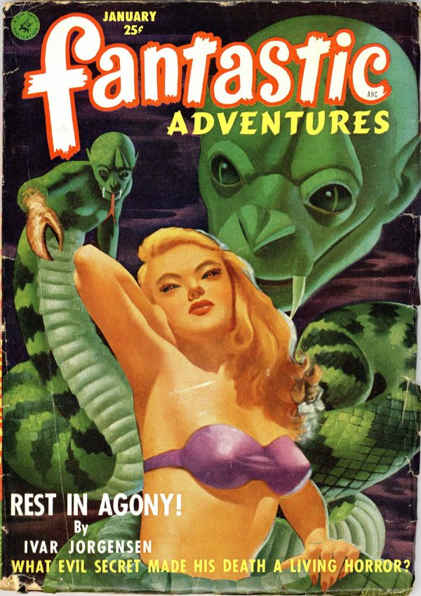 Fantastic Adventures January 1952
