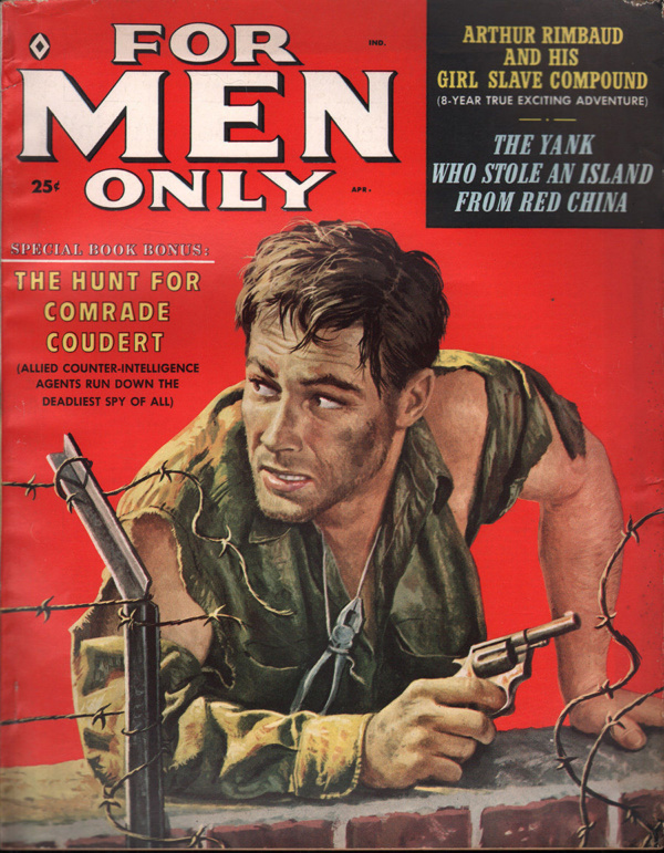 For Men Only April 1959