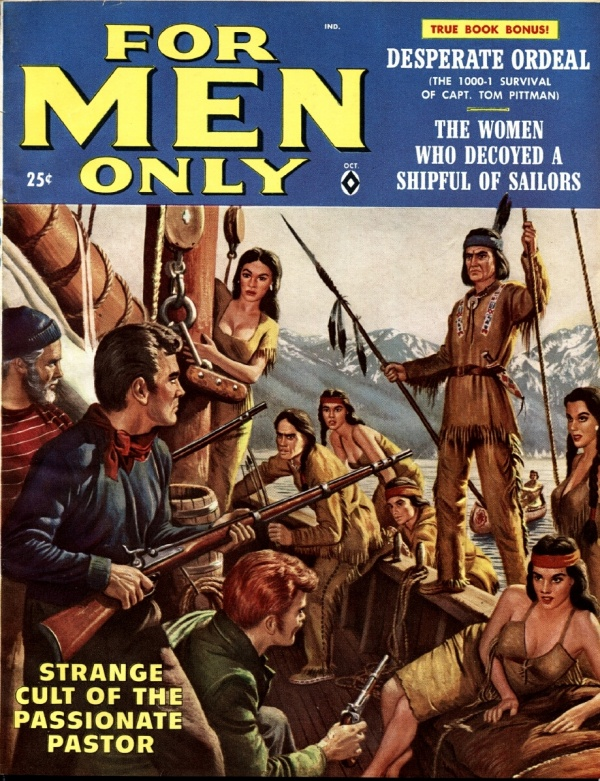 For Men Only October 1958