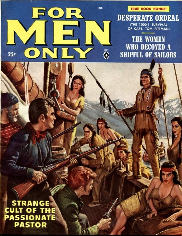 For Men Only October 1958