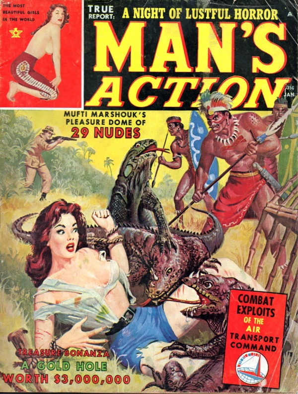 MANS ACTION January 1963