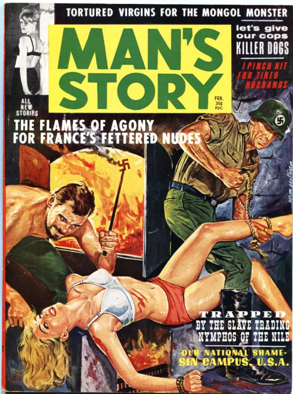 Man's Story February 1963