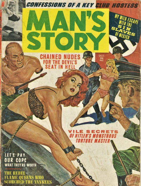 Man's Magazine July 1962