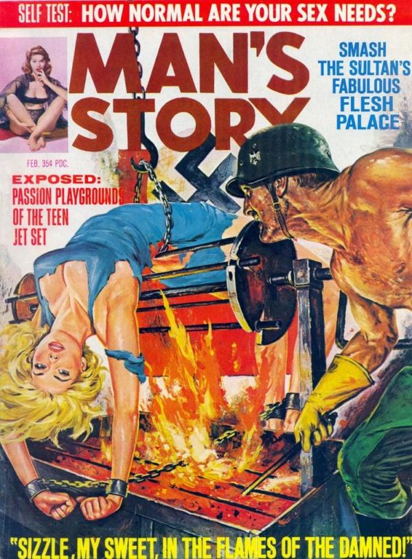 Man's Story February 1966