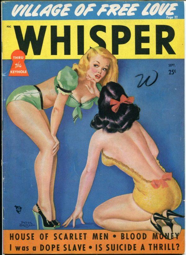 Whisper Magazine September 1949