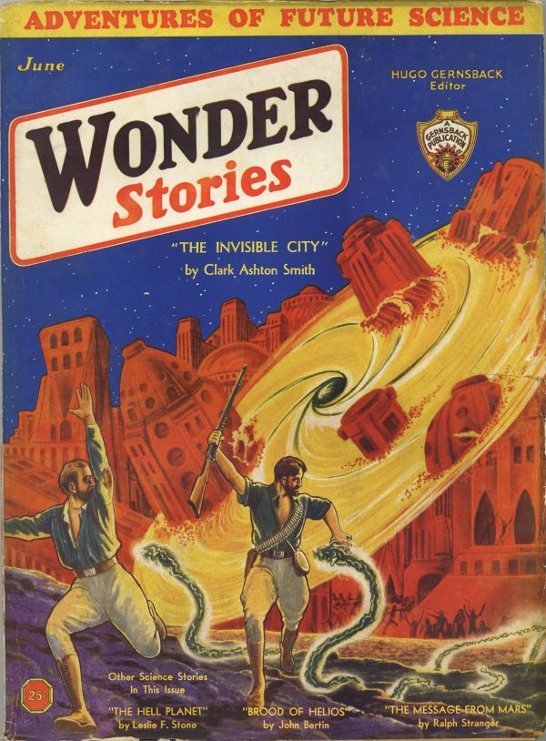 Wonder Stories June 1932