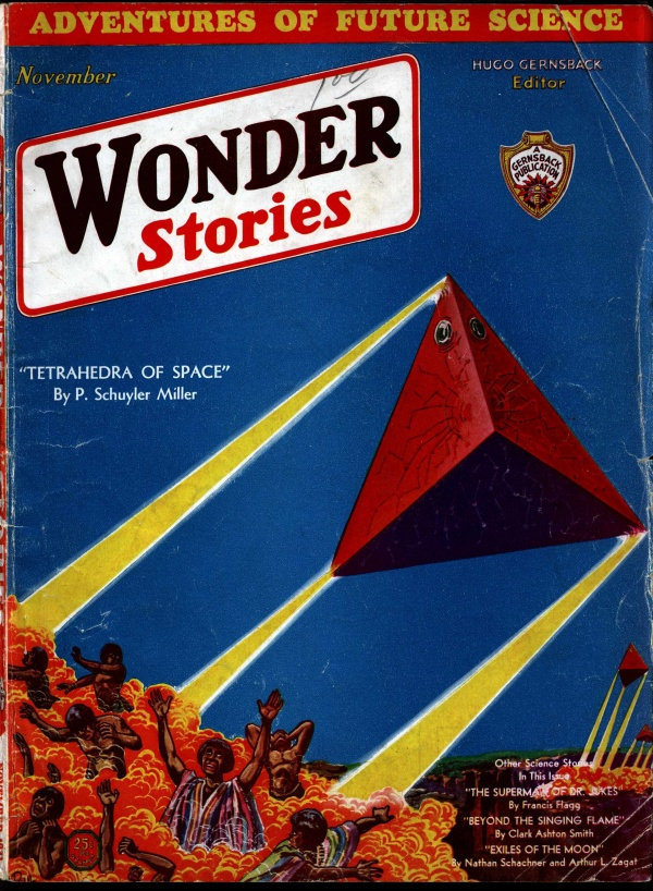 Wonder Stories November 1931