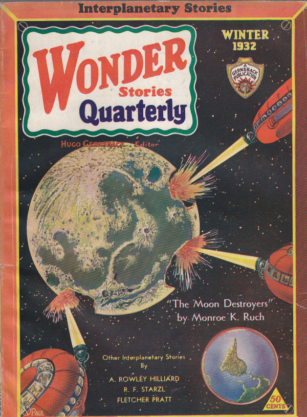 Wonder Stories Quarterly, Winter 1932