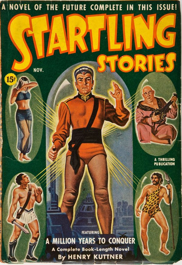 Startling Stories November 1940