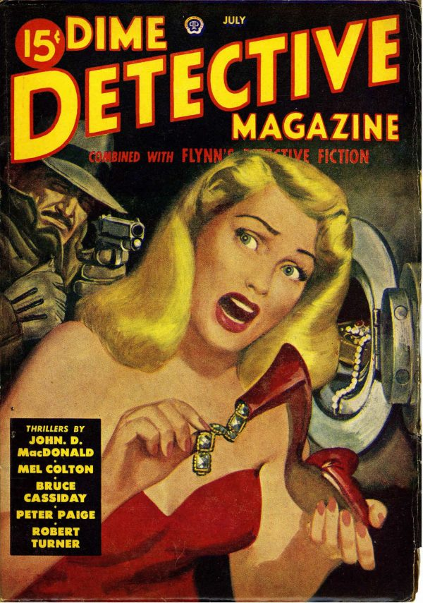 Dime Detective July 1949