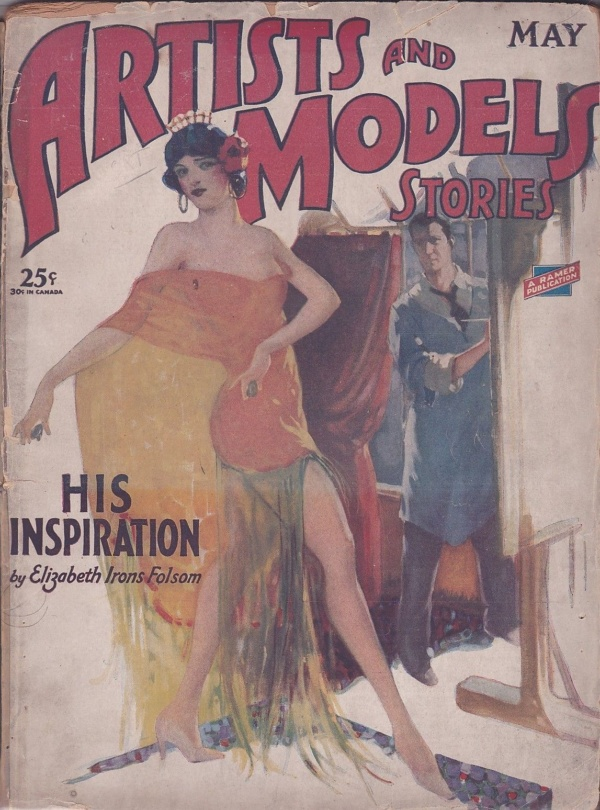 Artists and Model Stories May 1929