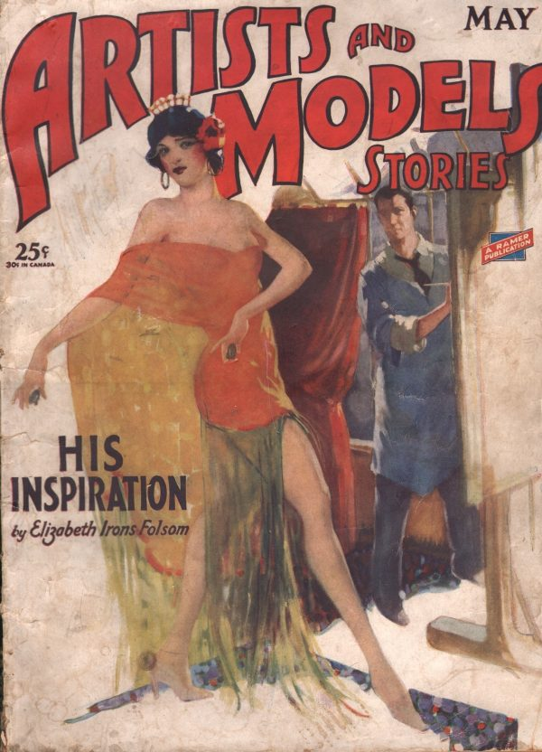 Artists and Models Stories May 1929