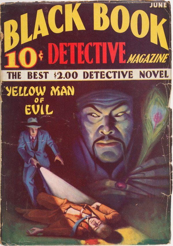Black Book Detective Magazine June 1933