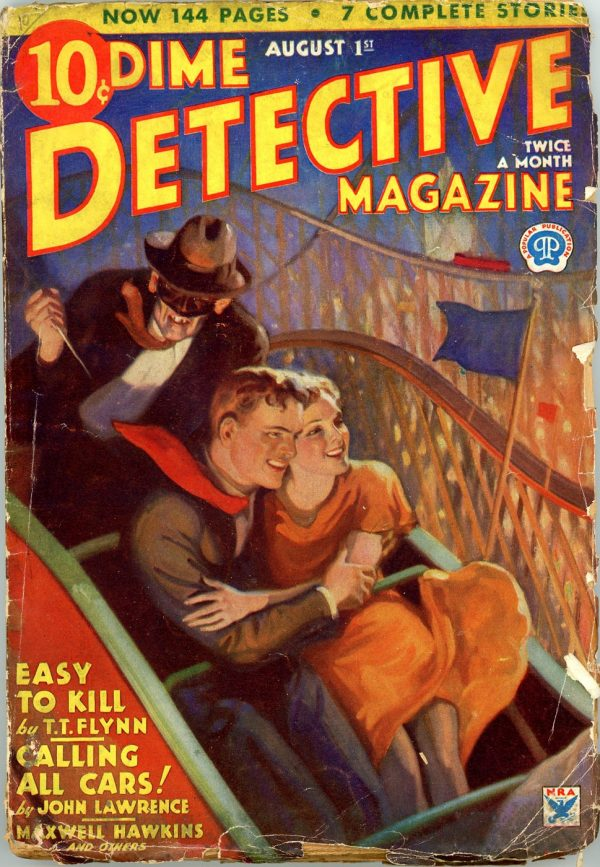 DIME DETECTIVE MAGAZINE. August 1, 1934