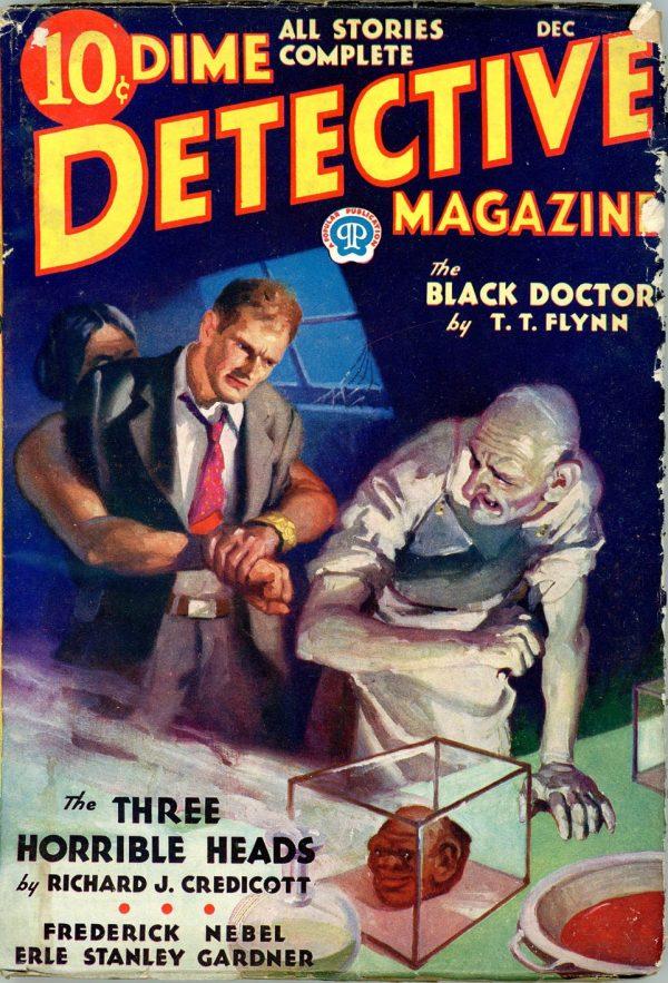 DIME DETECTIVE MAGAZINE. December, 1932