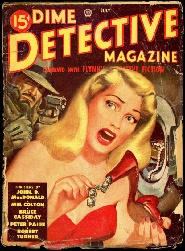 DIME DETECTIVE. July 1949