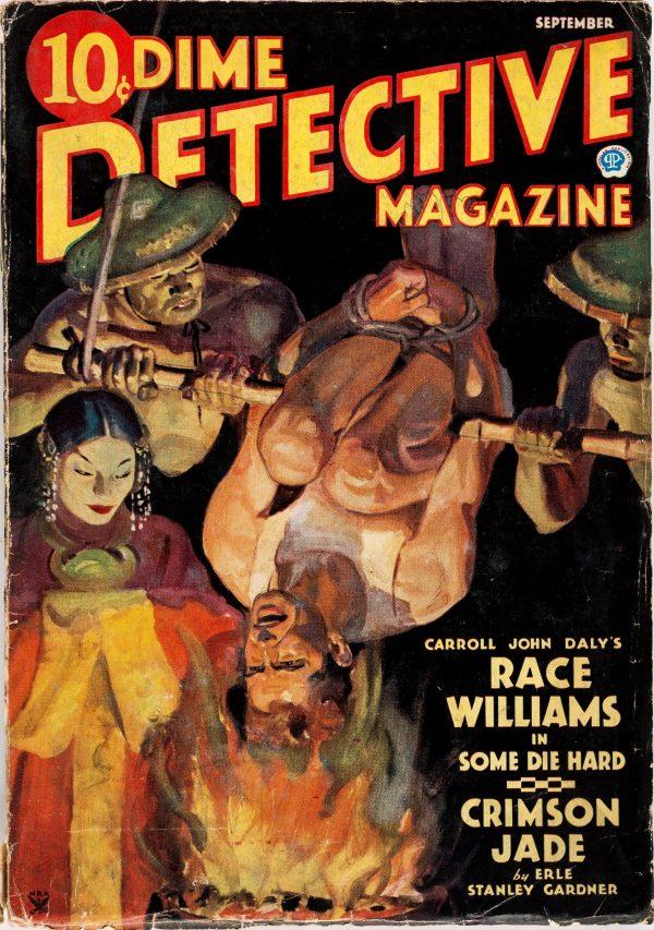 Dime Detective Magazine - September 1935