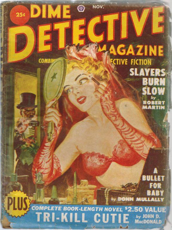 Dime Detective November 1950