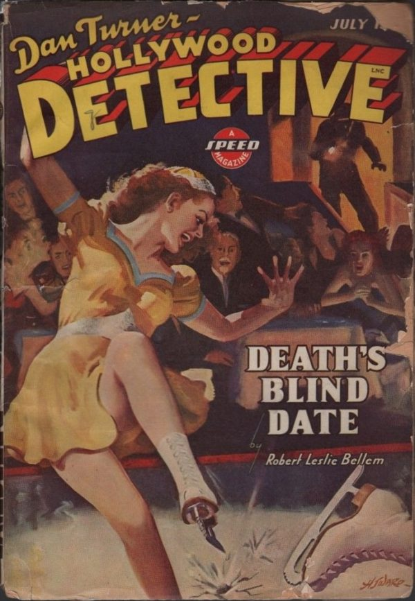 Hollywood Detective 1943 July