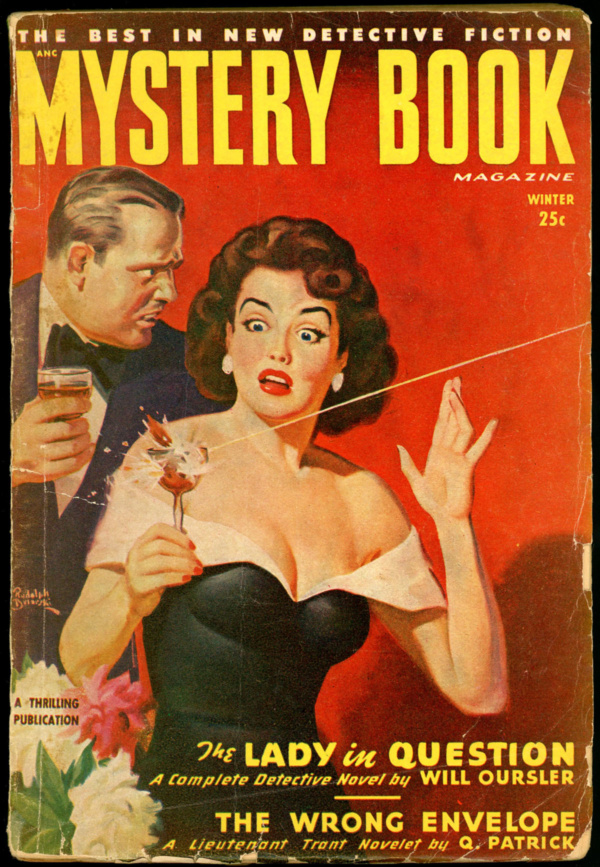 MYSTERY BOOK MAGAZINE. Winter 1949