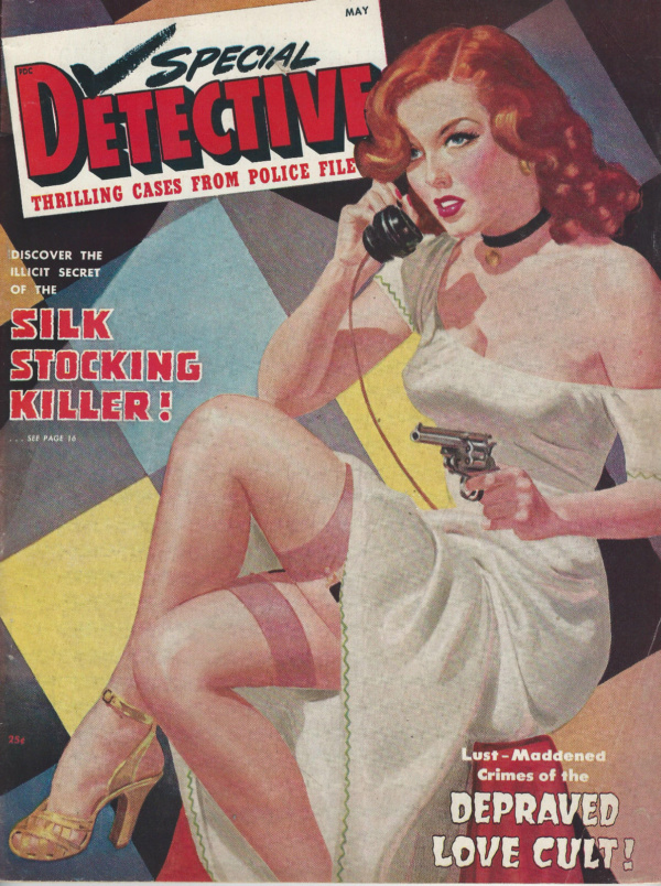 SPECIAL DETECTIVE May 1949