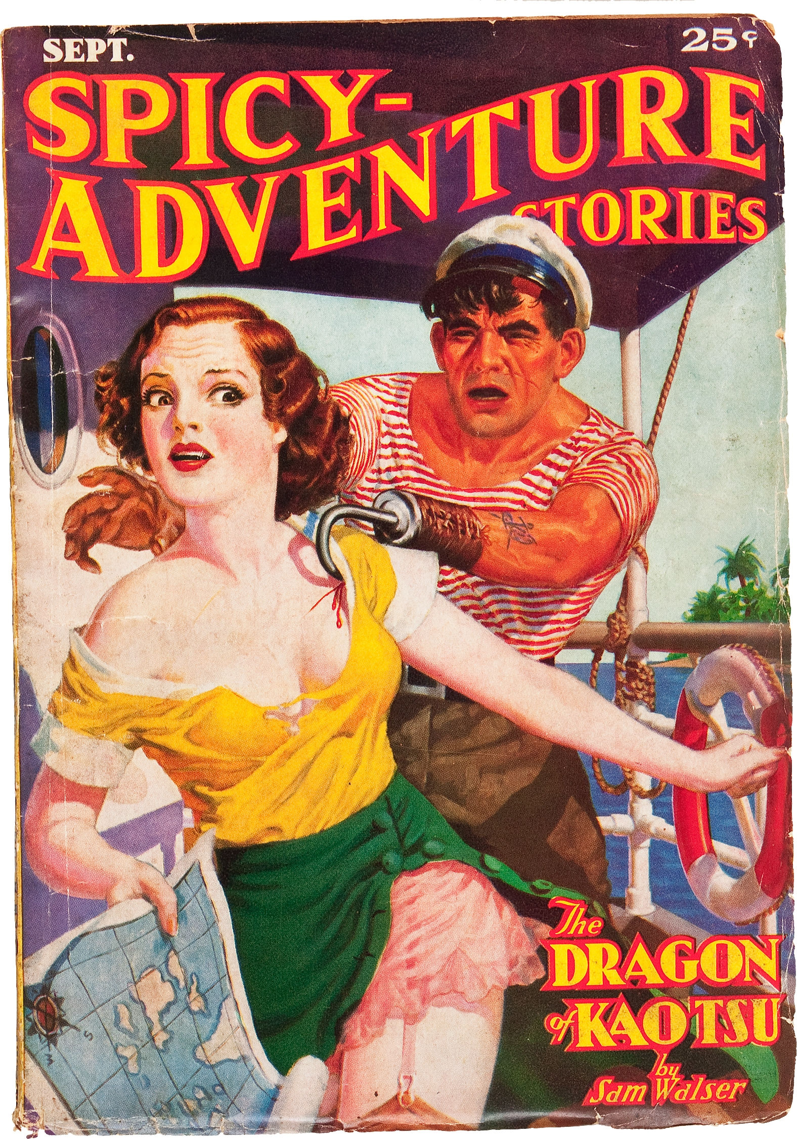 Spicy Adventure Stories September 1936