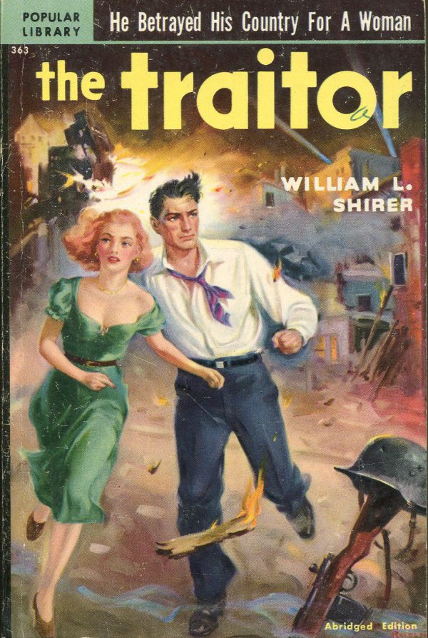 The Traitor-William L. Shirer-Vintage Popular Library PB-1951