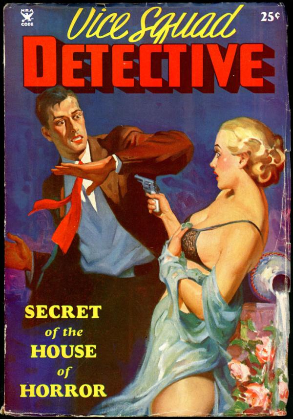 VICE SQUAD DETECTIVE. 1934