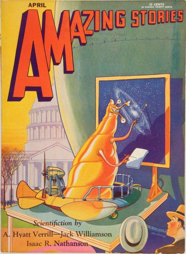 Amazing Stories, April 1930