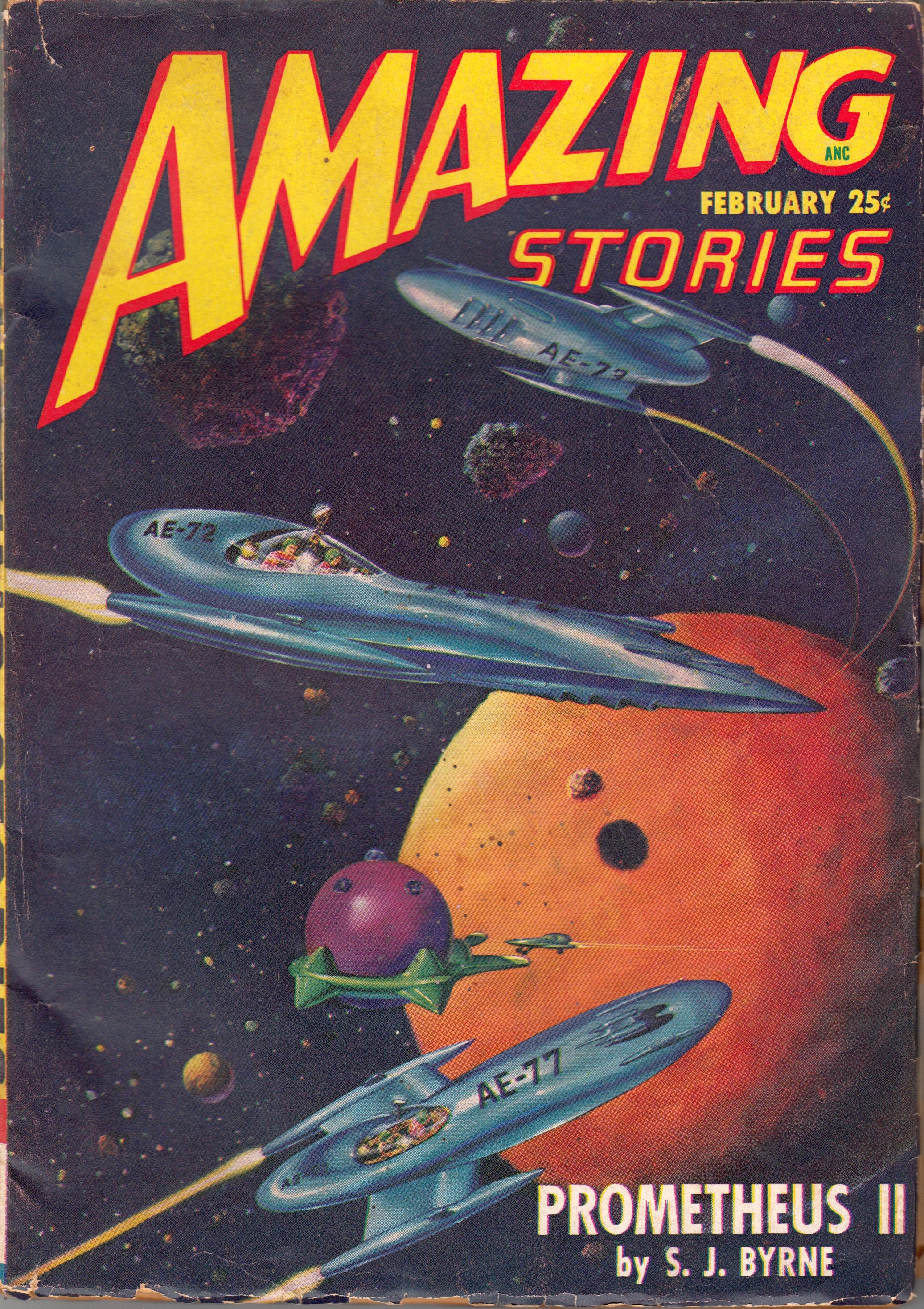 Amazing Stories Volume 21 Number 06: Pulp Covers
