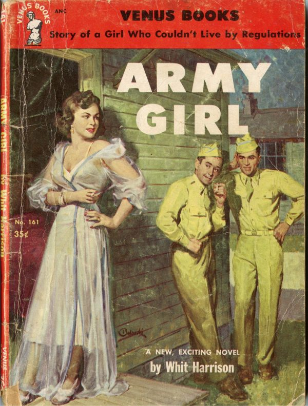 Army Girl - Venus Book - No 161 - Whit Harrison - 1953