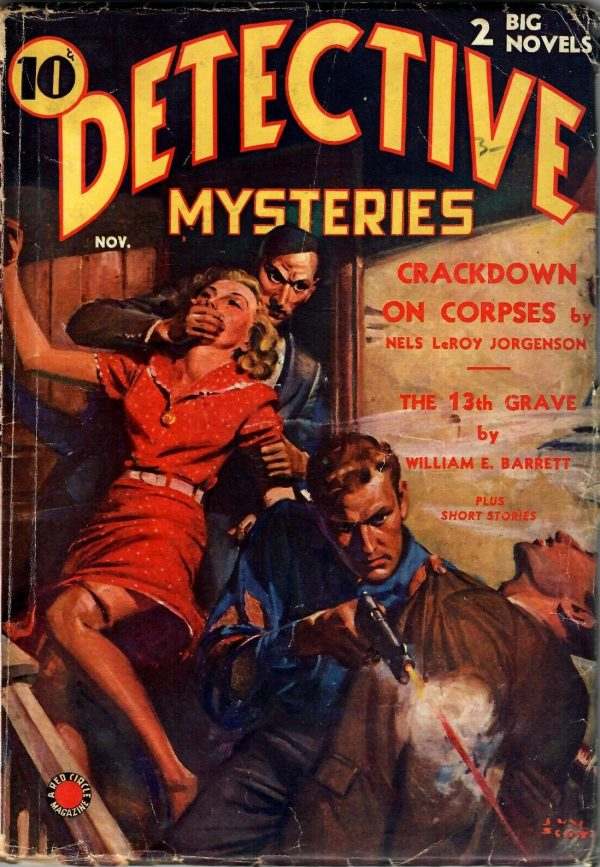 Detective Mysteries November 1938