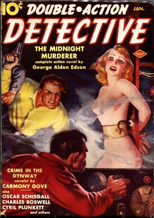 Double Action Detective January 1939