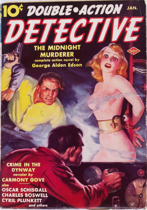 Double-Action Detective V1#2 (Columbia, 1939)
