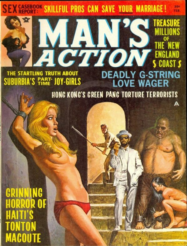 Man's Action February 1969