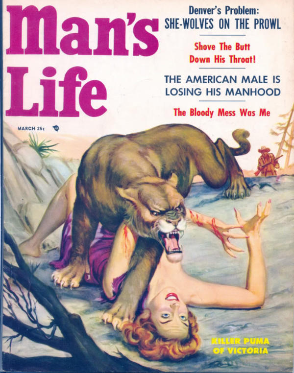 Man's Life March 1957
