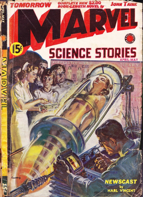 Marvel Science Stories, April-May 1939