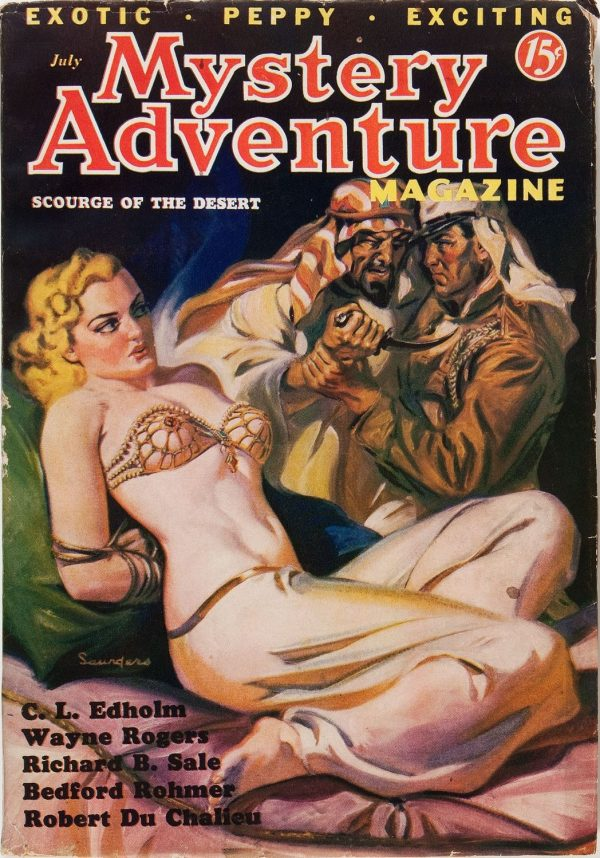 Mystery Adventure Magazine - July 1936